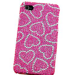 Snap-on Heart/ Butterfly Case Variety Set for Apple iPhone 4/ 4S - Thumbnail 2