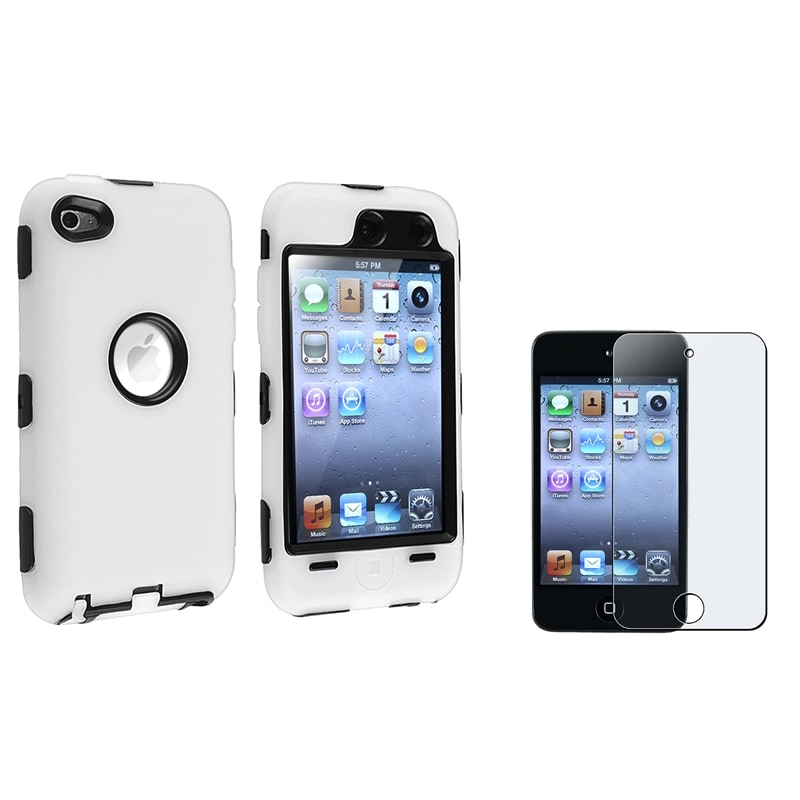 Case/ Anti-Glare Screen Protector for Apple iPod Touch Generation 4