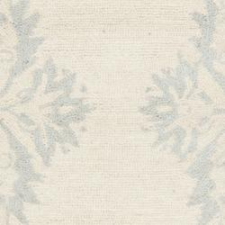 Safavieh Hand-hooked Chelsea Ivory Wool Rug (2'6 x 12') - Thumbnail 2