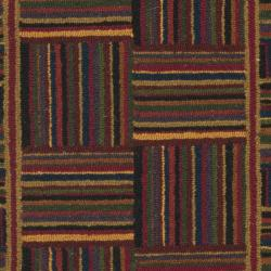 Safavieh Hand-hooked Chelsea Squares Wool Rug (2'9 x 4'9)