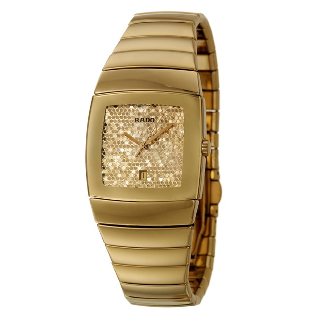 Rado Women's 'Sintra' Goldplated Stainless Steel Watch