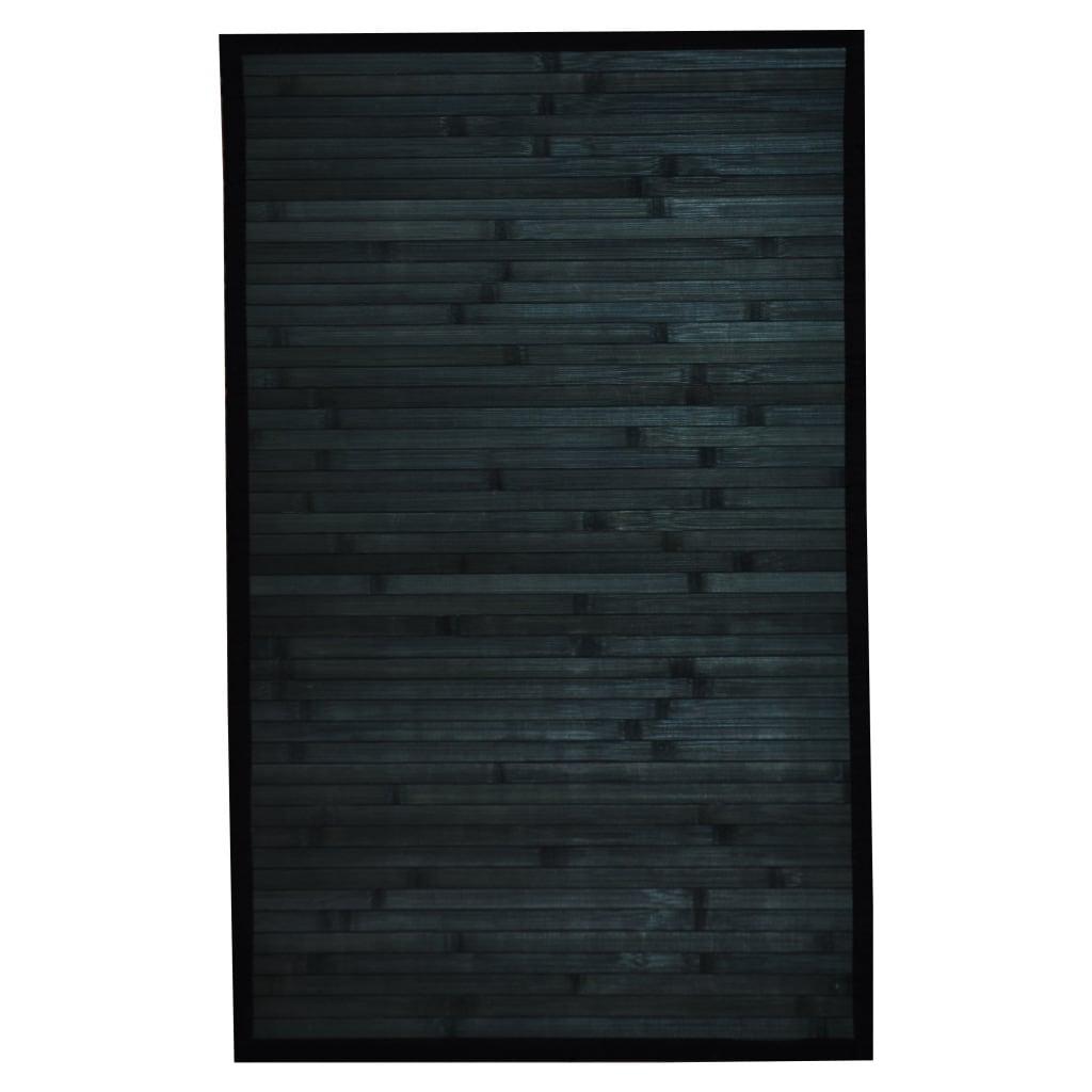 Asian Hand-woven Blue Bamboo Rug (1'8 x 2'8)