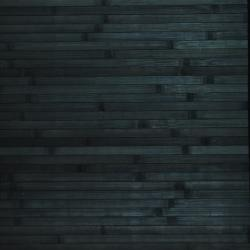Asian Hand-woven Blue Bamboo Rug (1'8 x 2'8) - Thumbnail 1