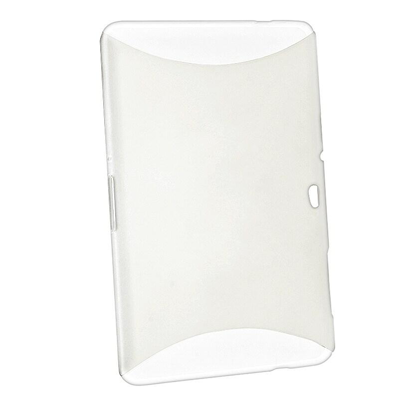 BasAcc Clear White TPU Case for Samsung Galaxy Tab P7500 10.1-inch