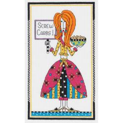 Shop Dolly Mama S Screw Carbs Counted Cross Stitch Kit 6