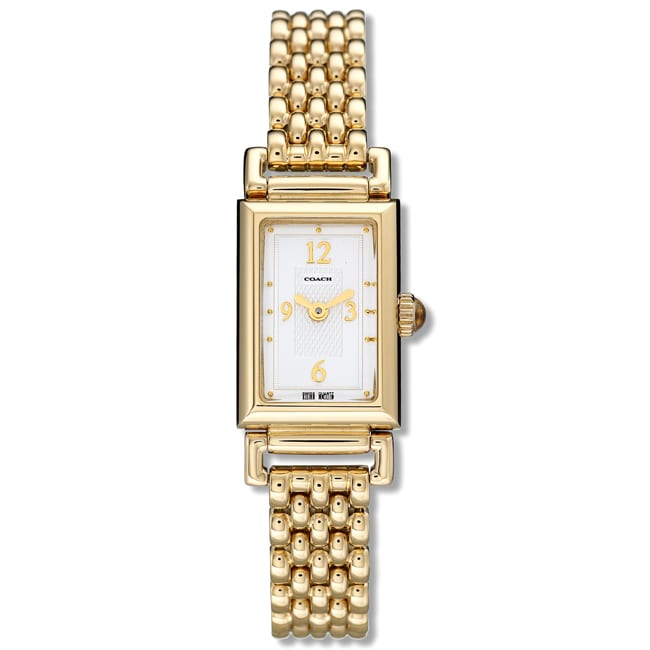 Coach Women's 'Madison' Gold-Plated Watch
