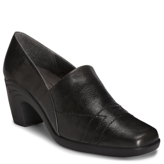 A2 by Aerosoles 'Hot Sawce' Black Slip On