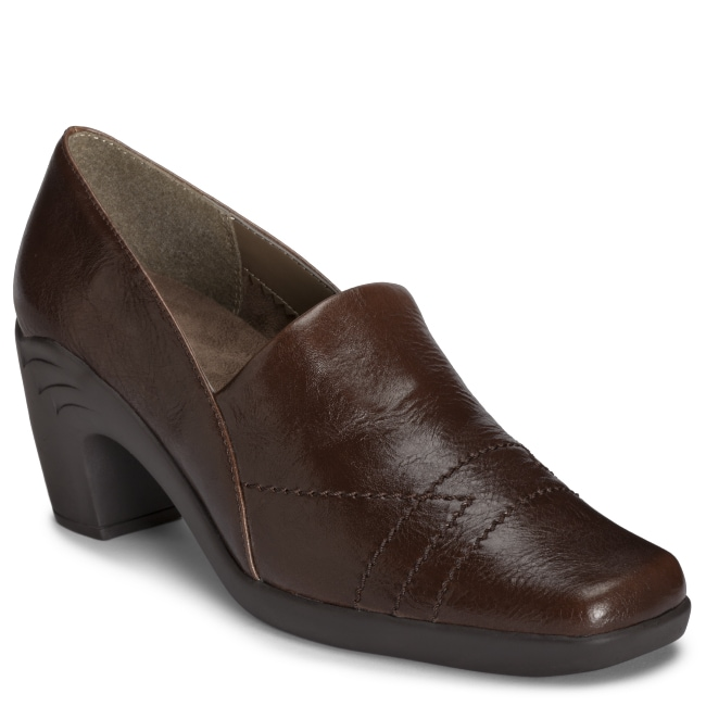 A2 by Aerosoles 'Hot Sawce' Brown Slip On