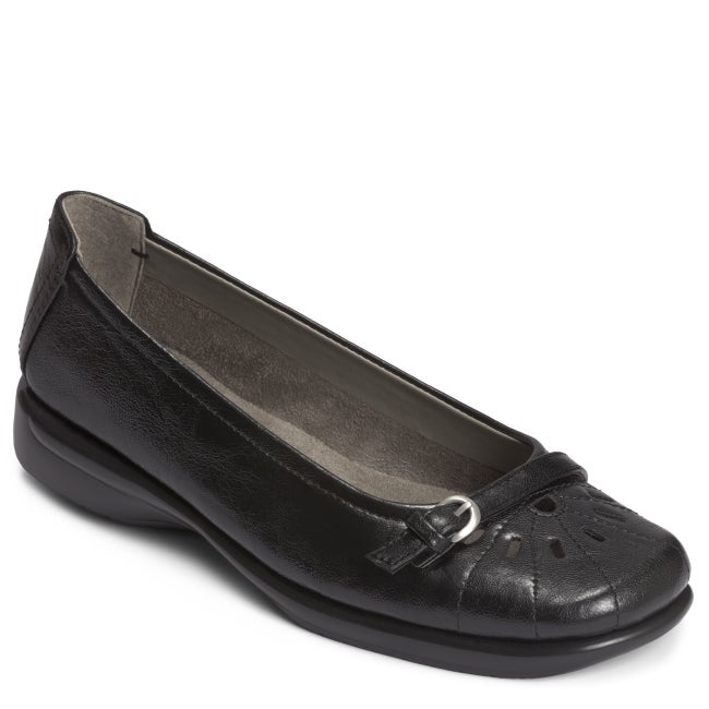 A2 by Aerosoles 'Ricotta' Black Slip On
