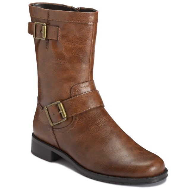 A2 by Aerosoles Slow Ride Tan Boot