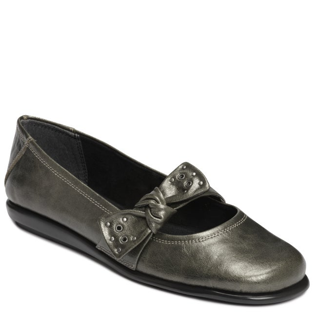 A2 by Aerosoles 'Solarium' Silver Combo Slip On - Thumbnail 0