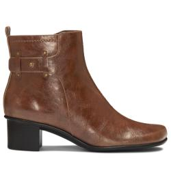 A2 by Aerosoles 'Pepicenter' Mid Brown Boot - Thumbnail 1