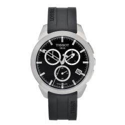 Tissot Men's Titanium Black Dial Watch