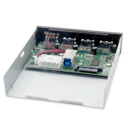 SYBA USB 3.0 4-port Internal Hub for 3.5-inch/ 5.25-inch SY-HUB20134 - Thumbnail 1