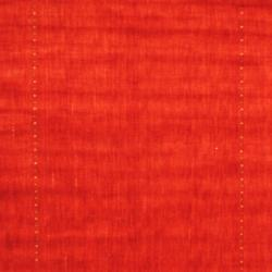 Indo Hand-loomed Red/ Green Gabbeh Wool Rug (6' x 9') - Thumbnail 1