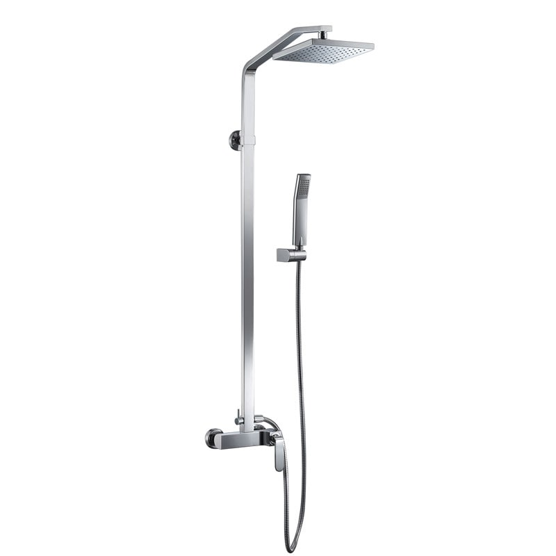 Shop CAE Modern Designed Single Handle Shower Faucet - Free Shipping ...