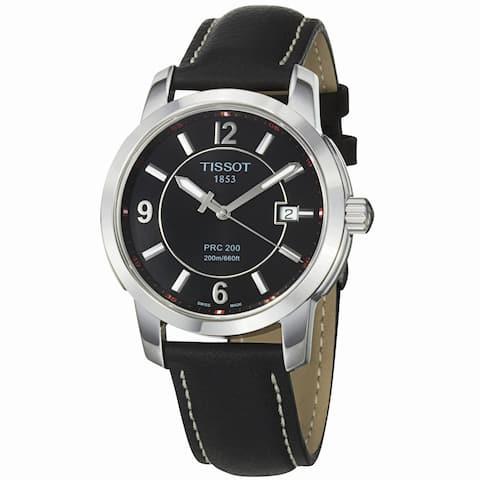 Tissot Men's PRC-200 Black Dial Watch