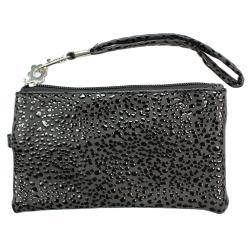 Fashion PU Multi-purpose Wallet / Coin Purse Black Splash Design