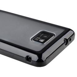Black Border TPU/ Polycarbonate case for Samsung Galaxy S II i9100