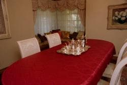 Prestige Red 57x138-inch Rectangle Oblong Tablecloth