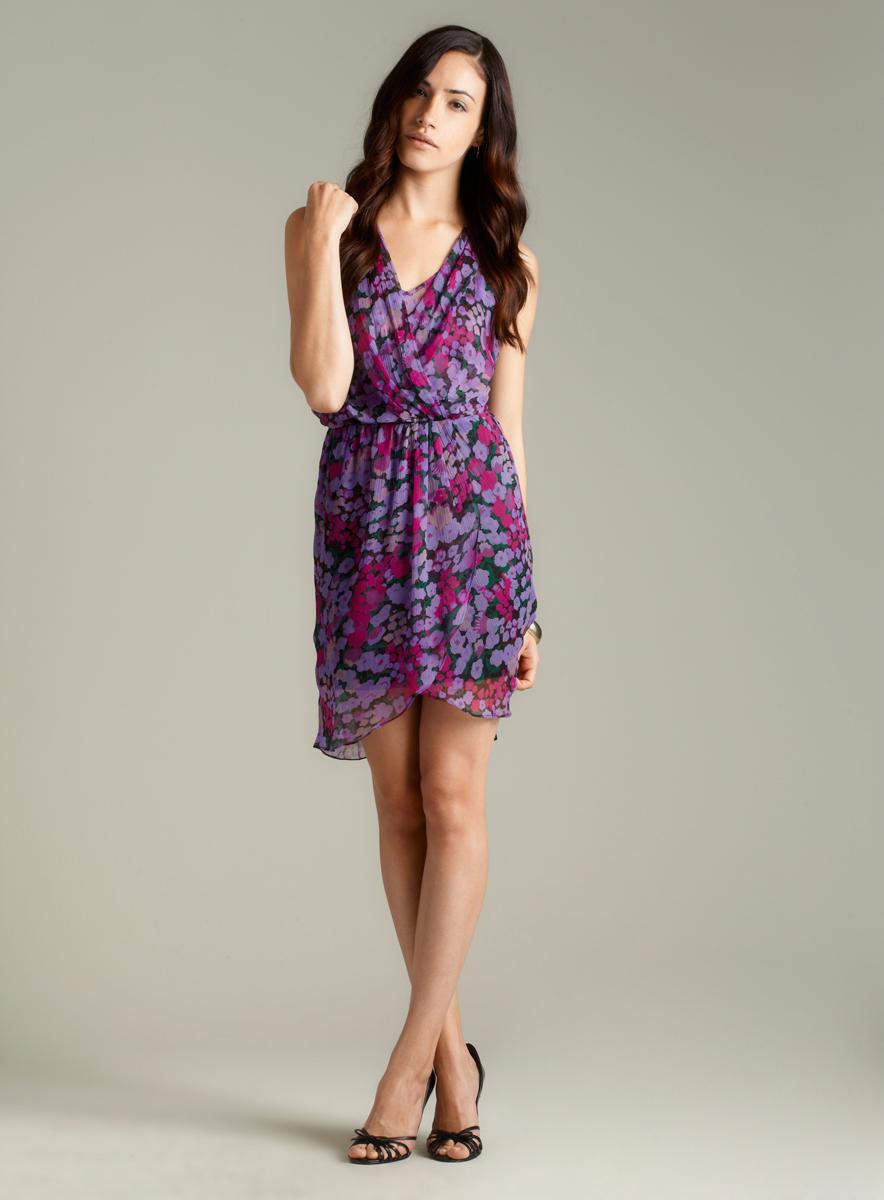 W118 By Walter Baker Olivia Lined Chiffon Dress