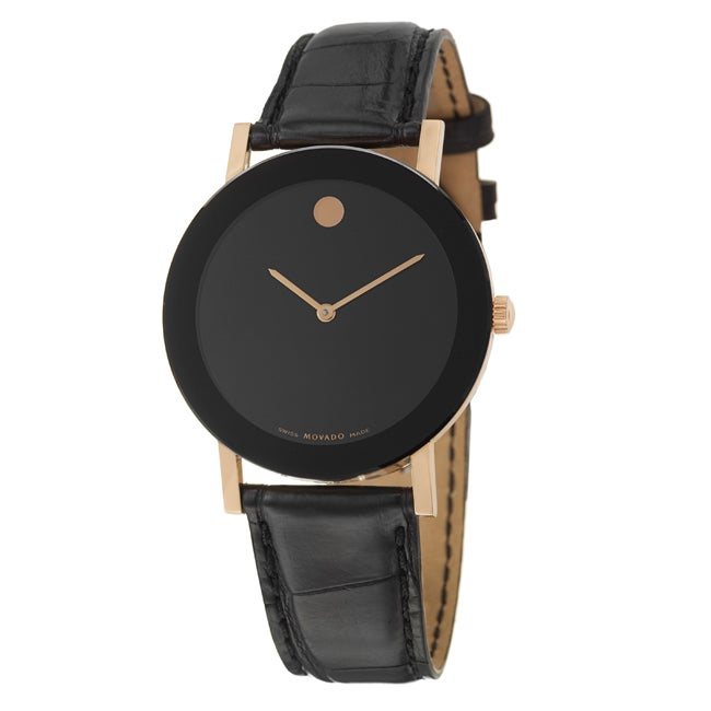 Movado Men's 18k Rose-gold Limited Edition Watch