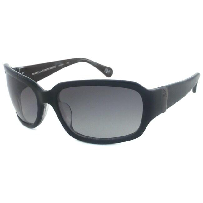 Diane Von Furstenberg Women's DVF532S Rectangular Sunglasses