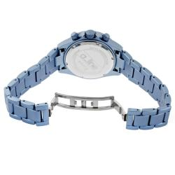 a_line Women's 'Amore' Light Blue Aluminum Watch - Thumbnail 1