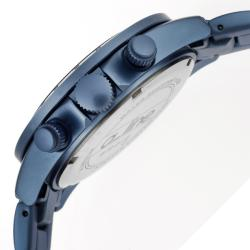 a_line Women's 'Amore' Light Blue Aluminum Watch - Thumbnail 2