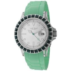 I by Invicta Women's Green Silicone Watch