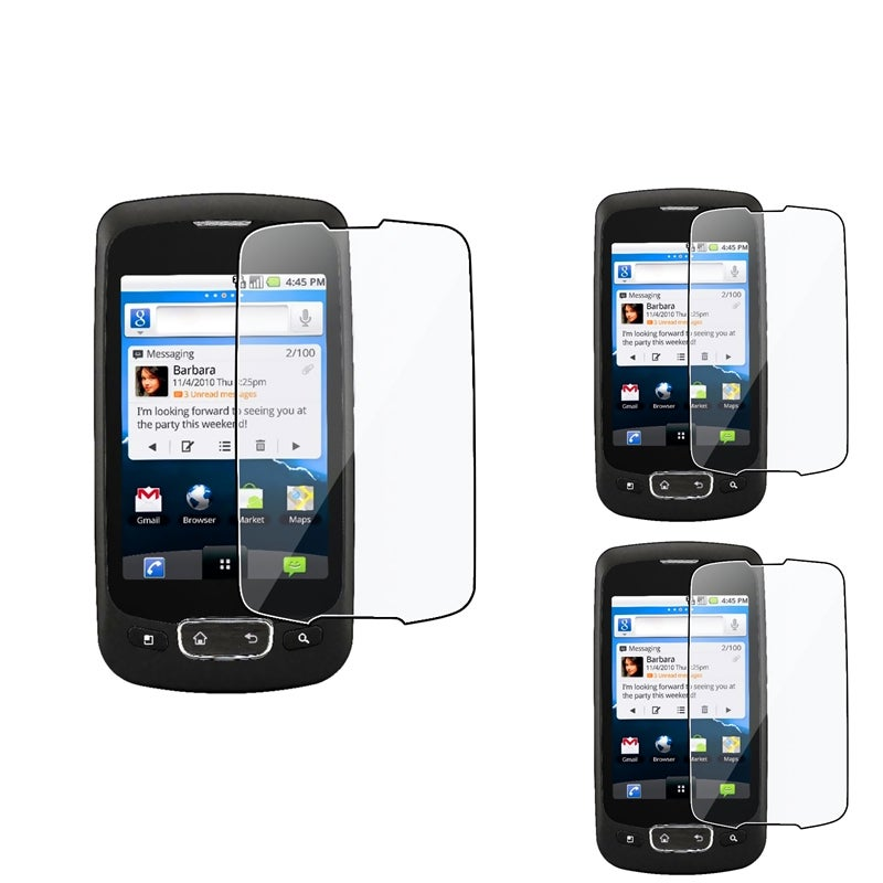 Screen Protector for LG Optimus T P509 (Pack of 3)