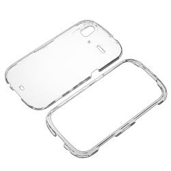 Clear Crystal Case/ LCD Protector for HTC Amaze 4G