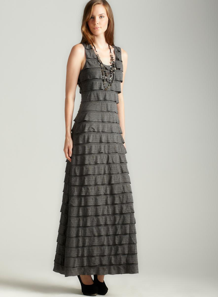 Max Studio Tiered Jersey Maxi Dress - Free Shipping Today ...