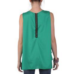 Tressa Designs Women's Contemporary Plus Layered Scoop Neck Tunic
