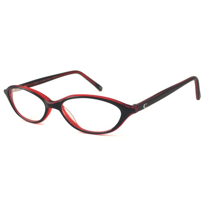 Coach Readers Women's Julianne Black Oval Reading Glasses