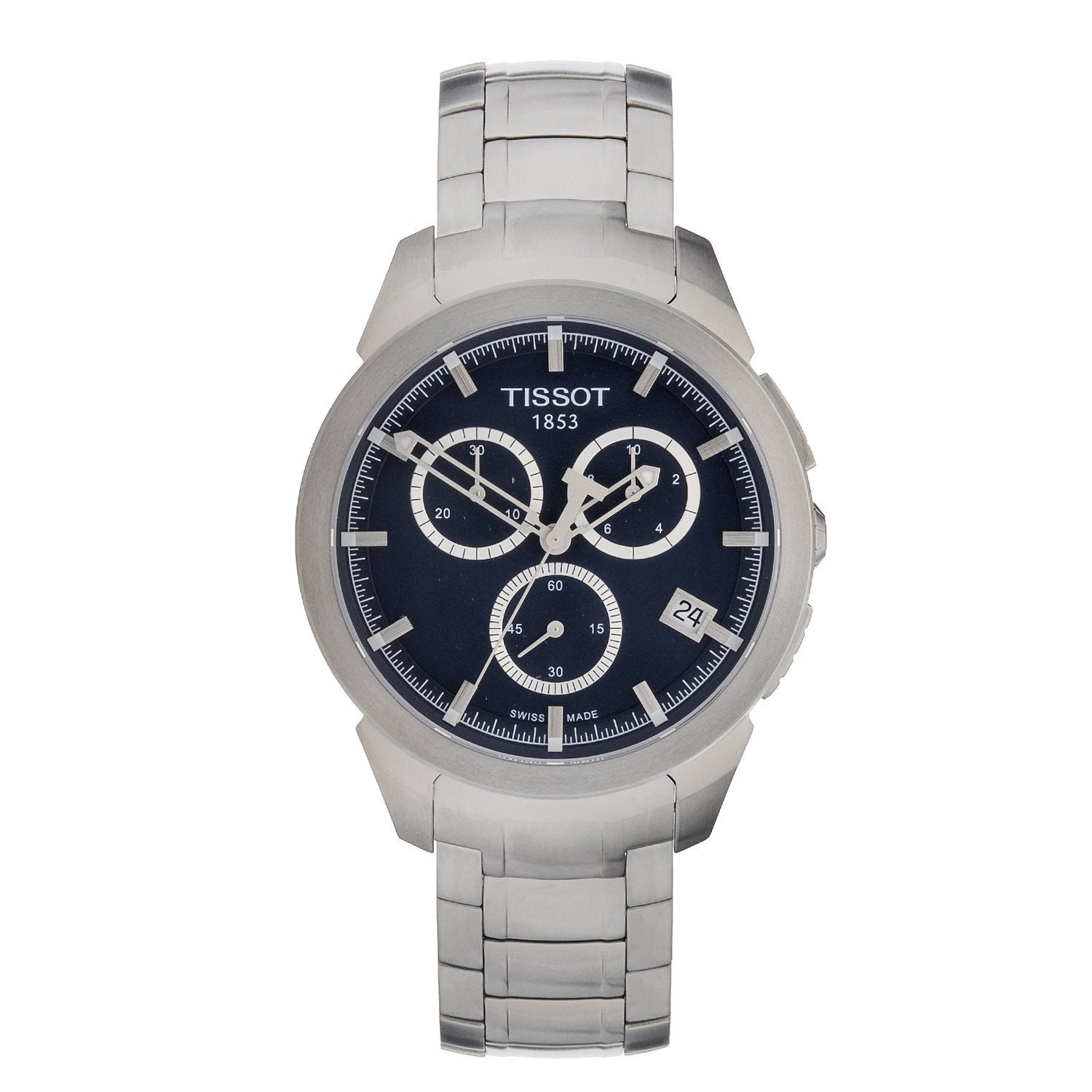Tissot Men's Titanium Chronograph Watch (T0694174404100),...