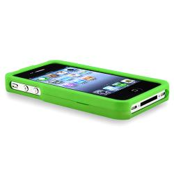 Multi-colored Case Set/ LCD Protector for Apple iPhone 4 / 4S