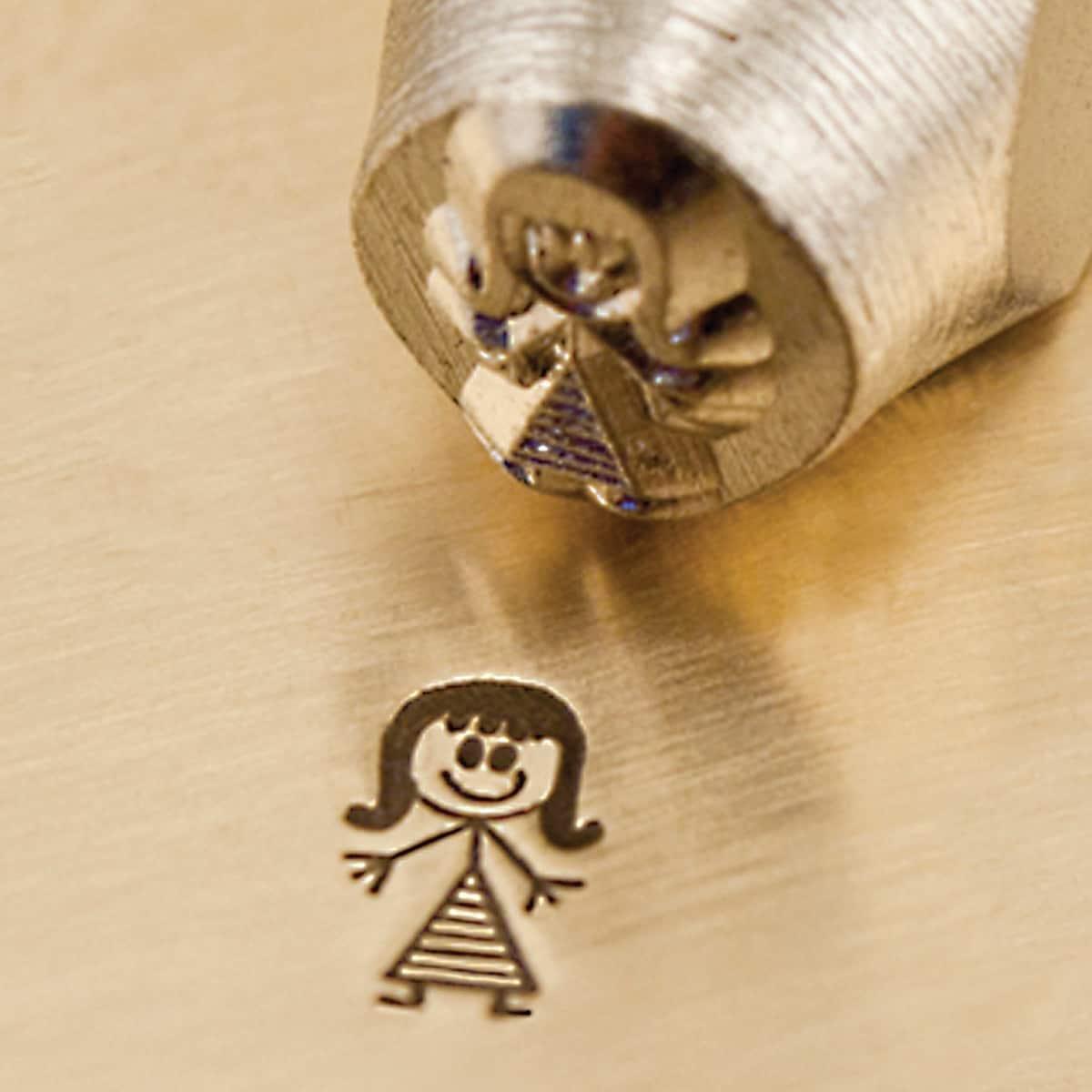 Impress Art Precision-cut Mommy 6mm Metal Crafting Design Stamps 1/Pkg