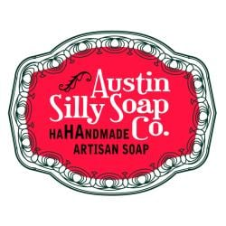 Austin Silly Soap Pack of 3 Choco Mint Chunk Creamy Handmade Soap - Thumbnail 2