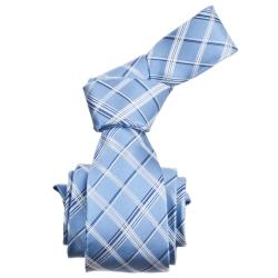 Republic Men's Silk Plaid Tie - Thumbnail 0