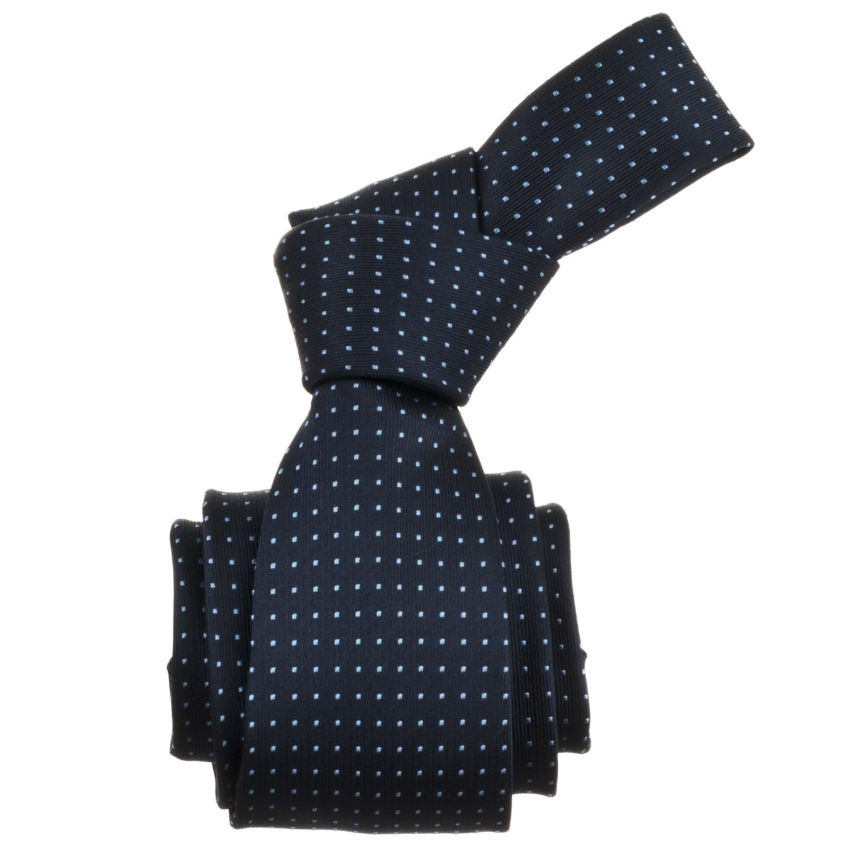 Republic Men's Dotted Navy Blue Tie