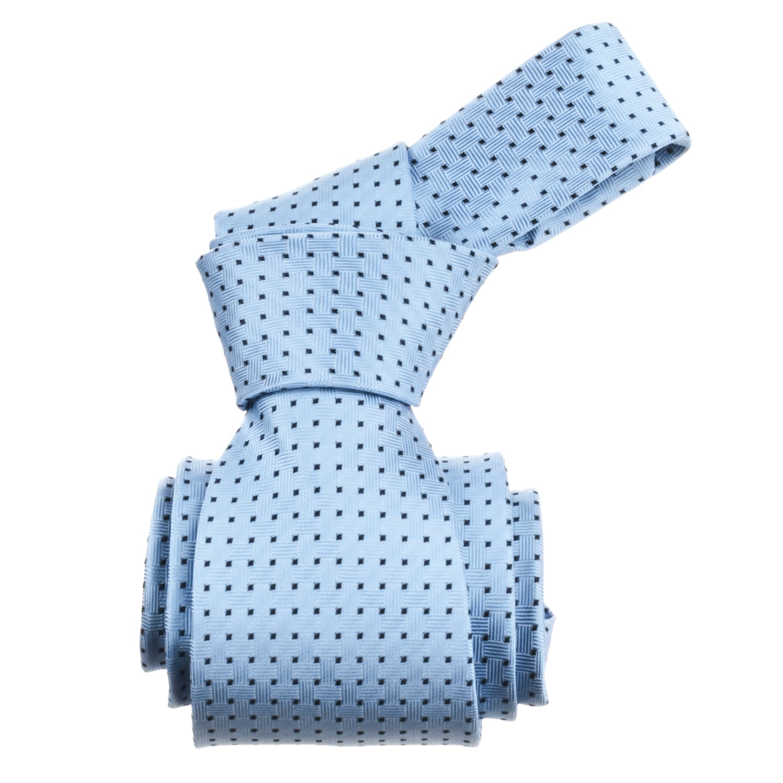 Republic Men's Dotted Light Blue Tie