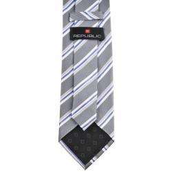Republic Men's Silk Pinstriped Tie