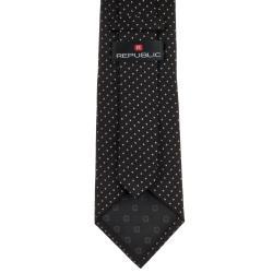 Republic Men's Silk Dotted Pattern Tie