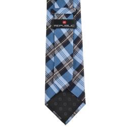 Republic Men's Silk Plaid Tie
