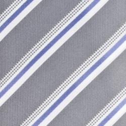 Republic Men's Silk Pinstriped Tie - Thumbnail 2