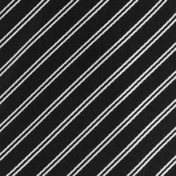 Republic Men's Silk Pinstriped Tie - Thumbnail 2