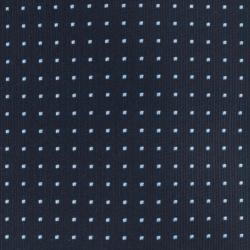 Republic Men's Dotted Navy Blue Tie - Thumbnail 2