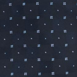 Republic Men's Dotted Navy Blue Tie - Thumbnail 2