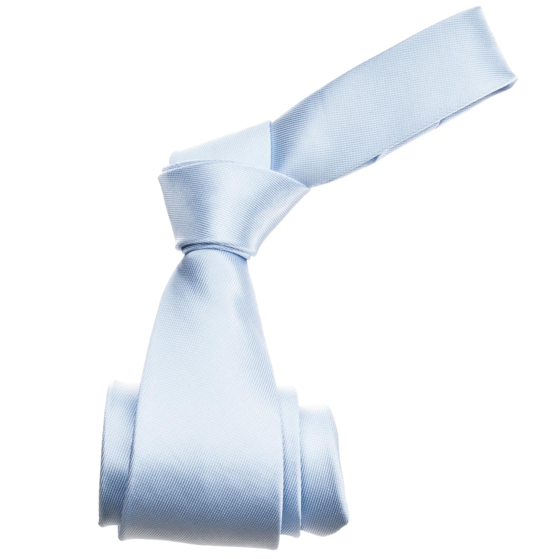 Republic Men's Solid Blue Silk Tie